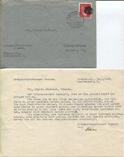 Lokal/Sächs. Schwärzung AP 827 II Ortsbrief Dresden mit Inhalt Bedarf! (B06900)