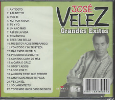 RARE cd balada 70s 80s JOSE VELEZ no por favor ROMANTICA por ti ERES TAN BELLA