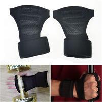 Men/Women Fitness Gloves Weight Lifting Gym Sport Workout Training Wrist Wrap A