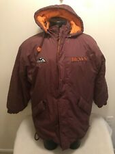 Vintage Cleveland Browns NFL Apex One Hooded Parka Jacket Mens Large