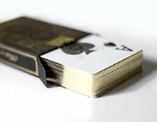 Luxury Gold Edge Waterproof Playing Cards