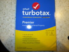 Intuit TurboTax Premier  Federal  2012  (Retail) (1 User) - Full Version...