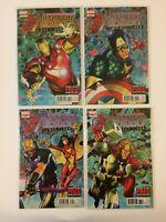 Lot of 4 Avengers Vol 4 #31 32 33 34 Marvel Comics (2012) VF/NM End Times