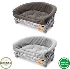 New Quality Handmade Luxury Wicker Pet Cat Dog Sofa Couch Cushion Blanket Beds