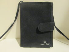 Protege Passport Holder - ID & Ticket Neck Hanging Wallet - Traveling Purse
