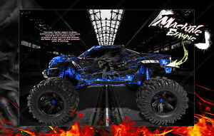 TRAXXAS X-MAXX GRAPHICS WRAP 'HELL RIDE' FITS STOCK & PRO-LINE BRUTE BASH RAPTOR