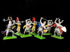 Vintage Britains Deetail Crusader Knights Lot of 7