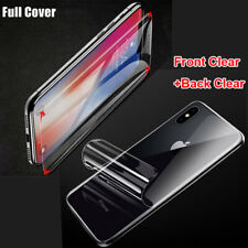 Hydrogel Flexible Film Full Cover Screen Protector For iPhone 11 Pro Max XR XS X
