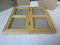 Vintage Solid Wood Picture Frame, 4 Photo Collage, Table or Wall Hang, NEW!