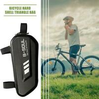 B-SOUL Bicycle Triangle Bag Waterproof Hard Shell Large Capacity Mountain Road
