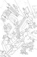 RUGRATS #1 COLORING BOOK VARIANT BOOM! STUDIOS NICKELODEON COMICS TOMMY