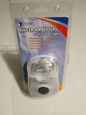 Krown Visual Phone Ringer Flasher Strobe Hearing Impaired Telephone Alert K-RA05