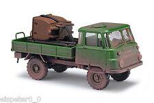 Busch 50235, Robur LO 2002 A mit Lore, H0 Auto Modell 1:87