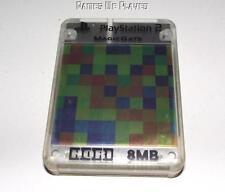 Multi Colored Hori Magic Gate PS2 Memory Card Preloved PlayStation 2 8MB