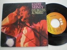 """Eddie Money Two Notes Al Paraiso SPAIN 7 """" Vinyl 1978 Vinilo 45 RPM"""
