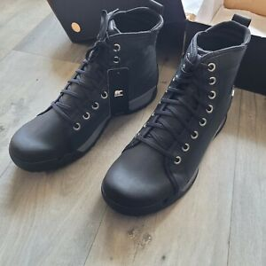 Sorel Paxson Size 14 UK Waterproof walking boots Black BNIB