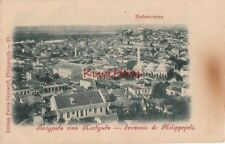 Postcard Bulgaria Town View Philippopoli