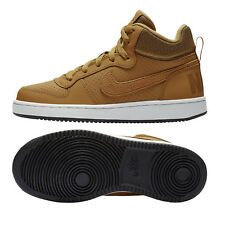 Nike Court Borough Mid GS - Kinder Sneaker Freizeitschuhe - 839977-701 - camel