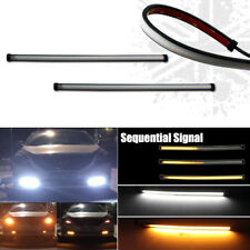 Switchback LED Daytime Running Lights w/ Sequential Signal Fog Lamps Kit