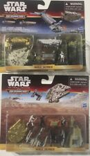 Lot STAR WARS Micromachines The Force Awakens GOLD SERIES Battle for Jakku Space