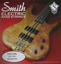 KEN SMITH TCRL STAINLESS STEEL TAPER CORE BASS STRINGS, LIGHT GAUGE  4's  40-102