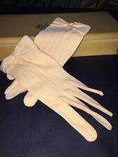 Vintage 1940s Butter Yellow Gloves Kayser NWOT