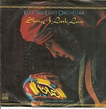 "45 TOURS / 7"" SINGLE--ELECTRIC LIGHT ORCHESTRA--SHINE A LITTLE LOVE / JUNGLE--79"