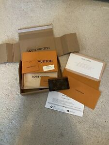 Genuine Louis Vuitton Card Holder ~ Monogram