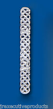 Tie Slide Tie Clip Sterling Silver Celtic Tie Slide Solid Silver Hallmarked