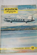 AVIATION MAGAZINE N°109- 1954-BOMBARDIERS RUSSES BATAILLE ANGLETERRE INDOCHINE