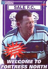 Sale sharks V Montpellier 28 sep 1997 rugby programme