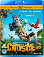 Robinson Crusoe 3D + 2D Blu-ray [2016] [DVD][Region 2]