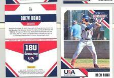 10 card lot 2020 Stars & Stripes Drew Romo #32 USA