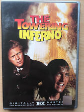 Steve McQueen Paul Newman Towering Inferno 1974 Disaster Movie US Region 1 DVD