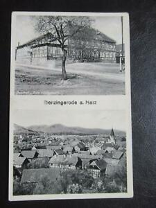 AK Benzingerode Harz Gasthof Zum Lindenhof um 1937
