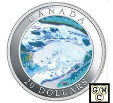 2003 Niagara Falls $20 Hologram .9999 Fine Silver (Natural Wonders) (10790)