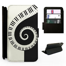 Piano Swirl Musical Instrument - Flip Phone Case Cover - Fits Iphone / Samsung