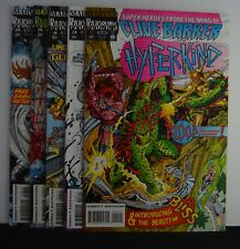 Hyperkind  #s: 2,3,4,5,8  (Marvel 1993) Lot of 5, Clive Barker Super Heroes