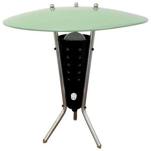Vintage 50's  Atomic Space Age Ufo Flying Saucer Modernist Table Lamp