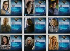 2018 SUPERGIRL CHARACTERS CHASE CARD SET