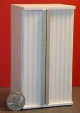 Dollhouse Miniature Modern White Refrigerator 1:12 inch scale E14 Dollys Gallery
