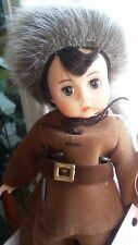 "Rare Vintage 1991 Madame Alexander 8"" Daniel Boone Doll #315 In Box w/knife"