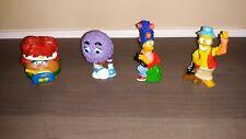 1988 - 1990 Simpsons Burger King & Mc Donalds Toys