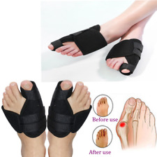 Bunion Splints Foot Big Toe Pain Relief Hallux Valgus Splint Brace - PAIR