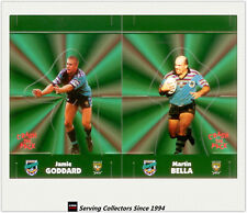 1997 Dynamic Rugby League POP-UP CARDS Team Sets-GOLD COAST CHARGERS(2)