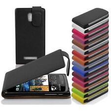 Case FLIP Style Cover HTC WINDOWS PHONE Protection Pocket Etui Design Wrapper