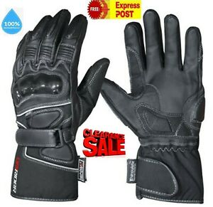 CLEARANCE! NEW DRIRIDER Storm 2 Motorcycle gloves XS Winter Waterproof rrp $89