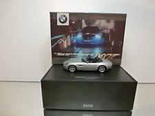 MINICHAMPS BMW Z8 - JAMES BOND 007 edition 1999 SILVER 1:43 - EXCELLENT IN BOX