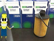 Premium Oil Filter for Ram 1500 3.0L Diesel 2014-2017 OE# 68229402AA Pack of 3