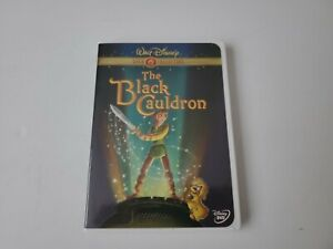 Walt Disney The Black Cauldron 2000 First DVD Release Gold Collection Movie OOP